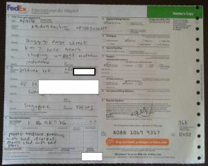 abdurrachim miss joaquim pearl send via fedex 1