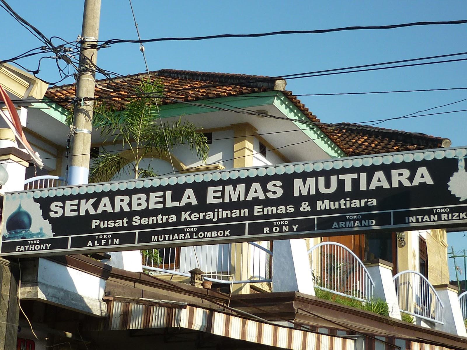 Pusat Mutiara Lombok Sekarbela