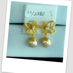 anting mutiara emas-0015