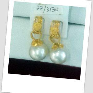 anting mutiara emas-0025
