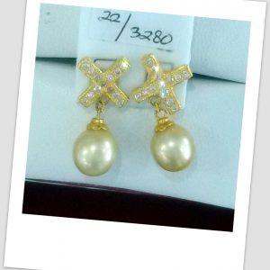 anting mutiara emas-0031
