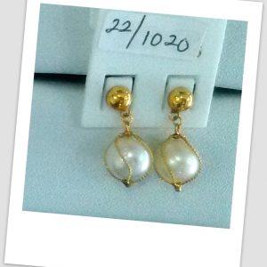 anting mutiara emas-0036