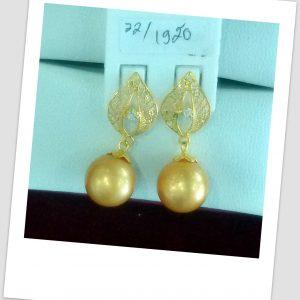 anting mutiara emas-0040