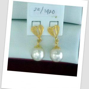 anting mutiara emas-0041