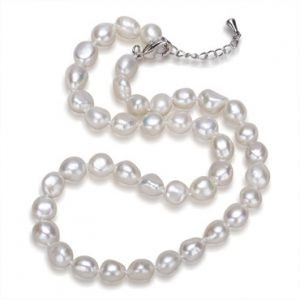 BFWPN-003 baroque freshwater pearl chocker necklace